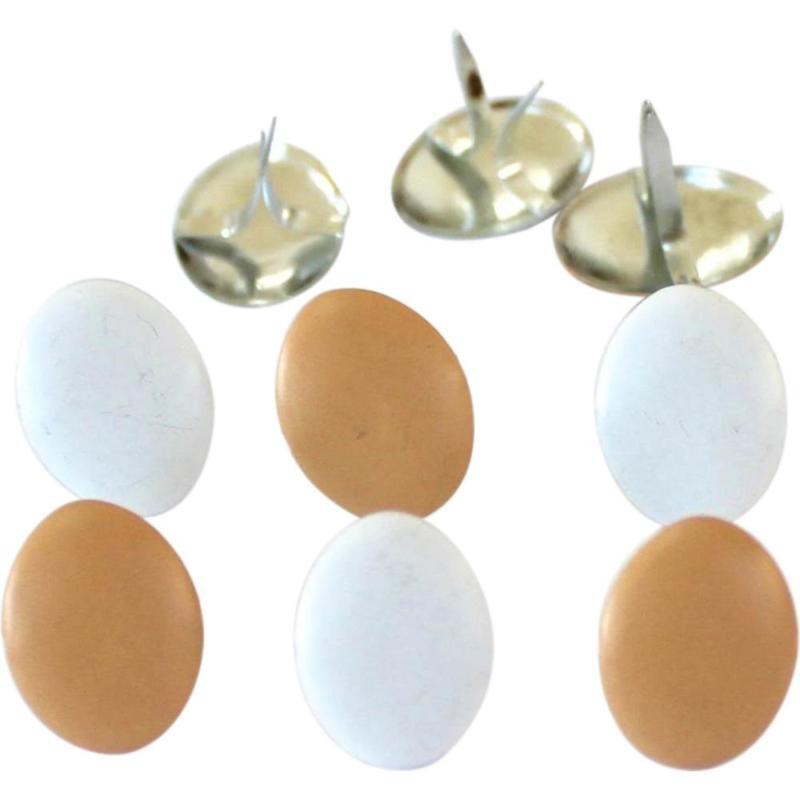 Splitpennen bruine en witte eieren - zakje 12 stuks