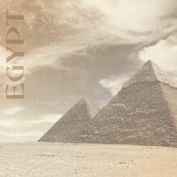Great Pyramids papier Egypte 30.5 x 30.5 cm