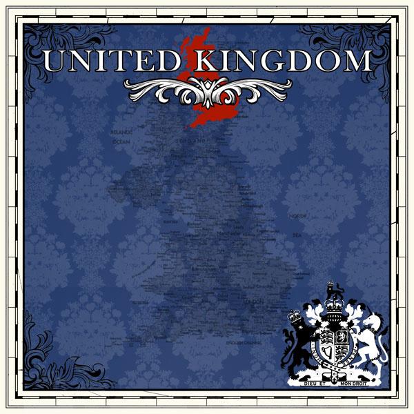United Kingdom - scrapbookpapier