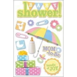 Baby Shower Boy or Girl  pop up decoration stickers