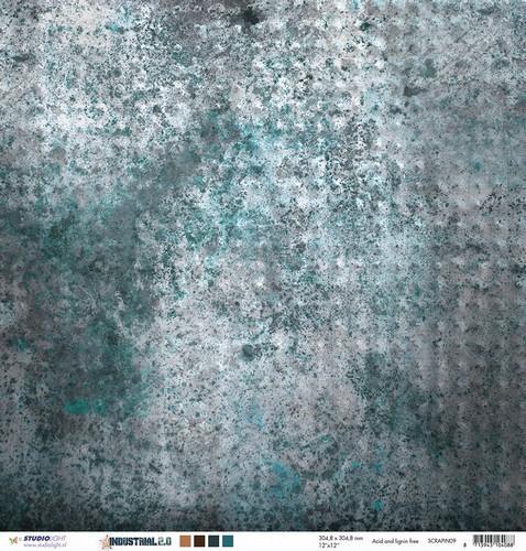 Industriële achtergronden - 30,5 x 30,5 cm