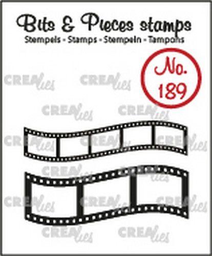 Crealies Clearstamp Bits en Pieces - Filmstrips