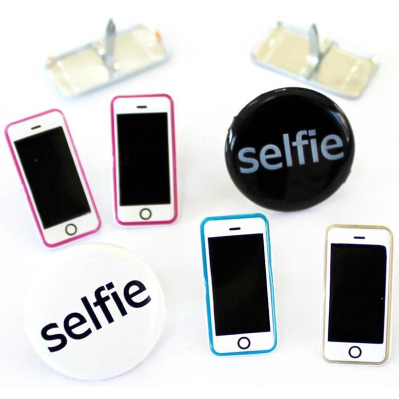 Selfie decoratie - zakje 12 stuks
