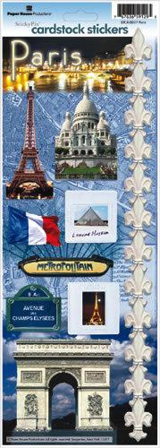 Cardstock Stickers Parijs