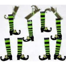 Heksen benen brads - splitpen decoratie - zakje 12 stuks