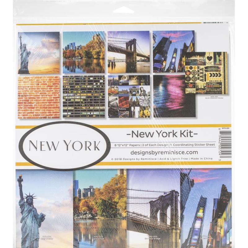 New York paperkit - 30.5 x 30.5 centimeter