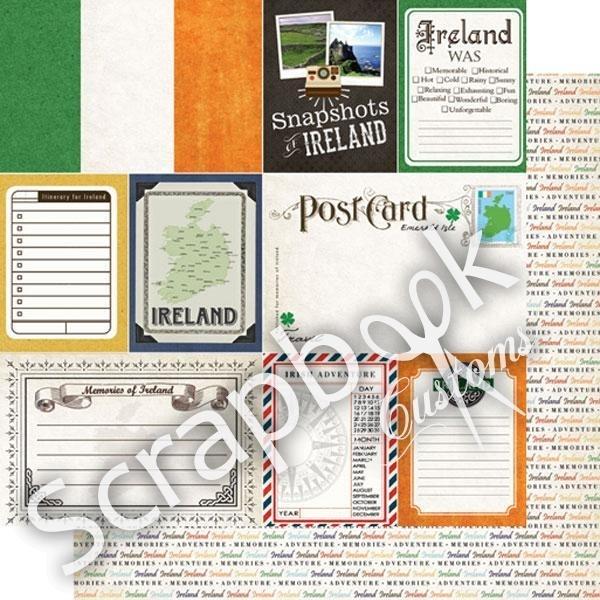 Snapshots/Journal - Ireland - Scrapbookpapier