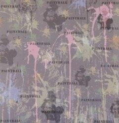 Paintball papier 30.5 x 30.5 cm