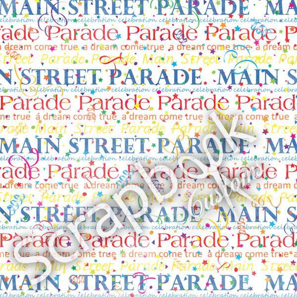 Main Street Parade - papier - 30.5x30.5 cm