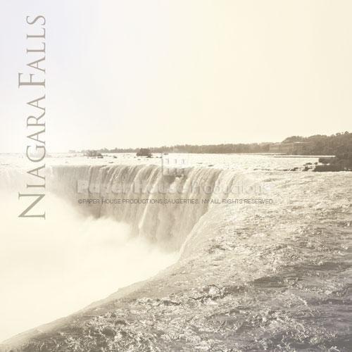 Niagara Falls thema scrap papier