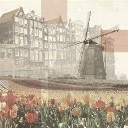 Windmolen tulpen en scrapbook nl Amsterdam scrapbook papier collage