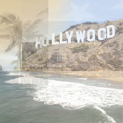 Hollywood letters - 30.5 x 30.5 cm
