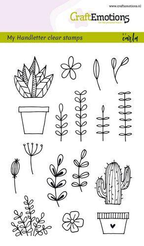 Bullet Journaling - Handletter Floral images - A6