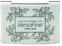 Olympia Green - Groen stempelkussen met watervaste inkt