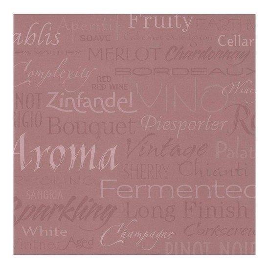Wijn drinken blush wine papier 30.5 x 30.5 cm