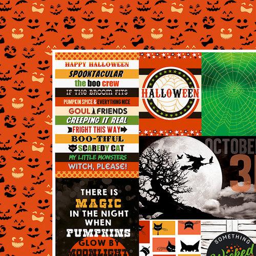 Halloween Tags 12 x 12 inch dubbelzijdig