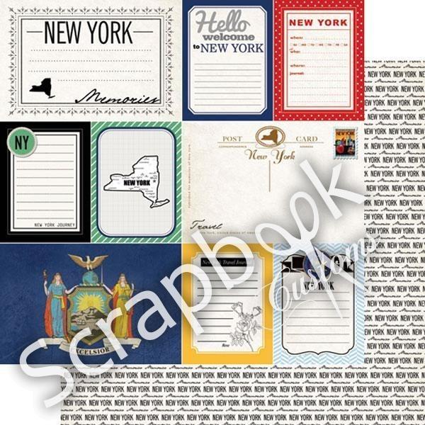 Hello Welcome to New York - Journal - scrapbookpapier
