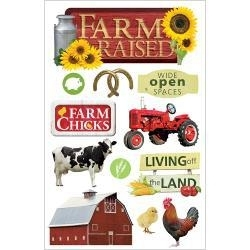 Dieren op de boerderij - 3D stickers