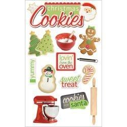 Kerst koekjes bakken - 3D stickers