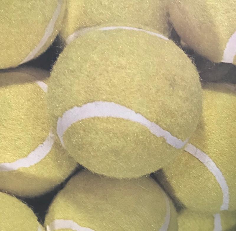 Tennis Ballen scrapbook papier