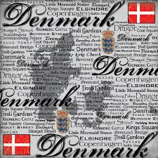 Denemarken - Scratchy 12 x 12 Paper
