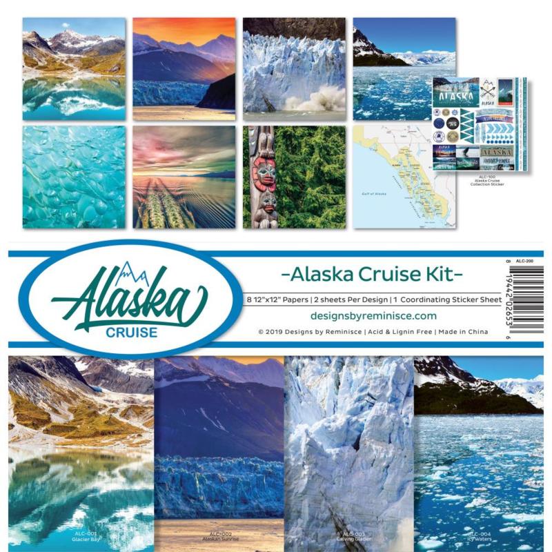 Alaska (Cruise) paperkit - 30.5 x 30.5 centimeter