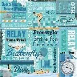 Zwemmen Woorden