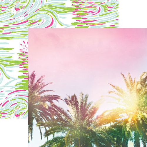 Palmbomen  30.5 x 30.5 centimeter