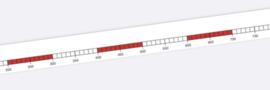 getallenlijnsticker  1-1000 (10 stuks)