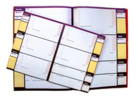 Planschriftje  (set van 5)