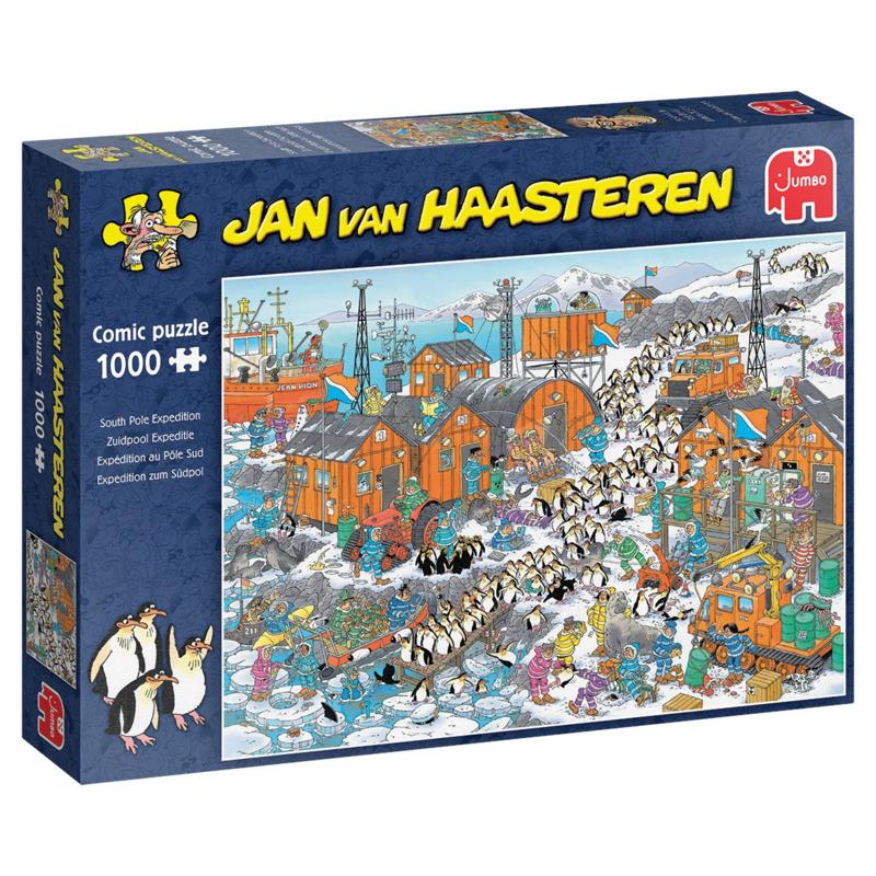 Studio Jan van Haasteren - Zuidpool Expeditie 1000 pc