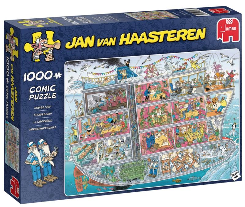 Studio Jan van Haasteren - Het cruiseschip 1000 pc