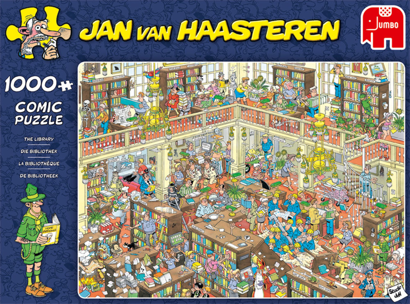 Studio Jan van Haasteren - Bibliotheek 1000 pc