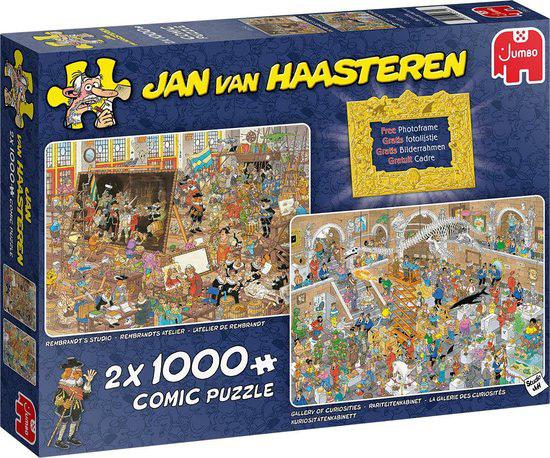 Studio Jan van Haasteren - Dagje naar het museum 2x 1000 pc