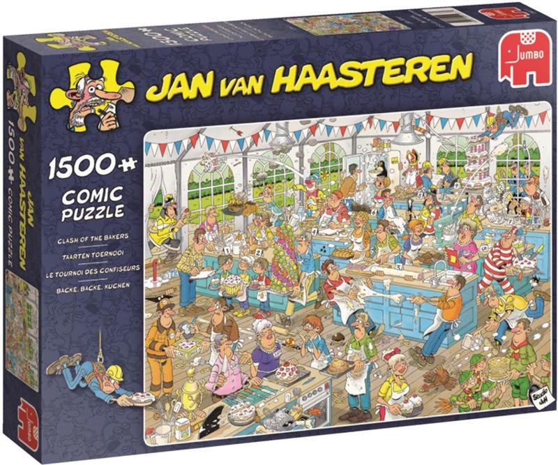 Studio Jan van Haasteren - Het Taartentoernooi 1500 pc