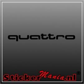 Audi quattro 1 sticker