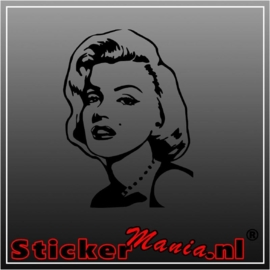 Marilyn monroe 1 sticker