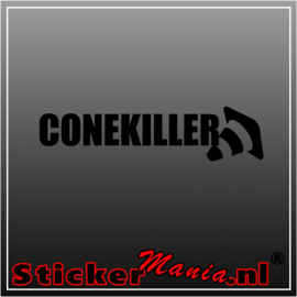 Cone killer sticker