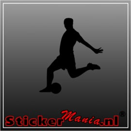 Voetbal 3 sticker