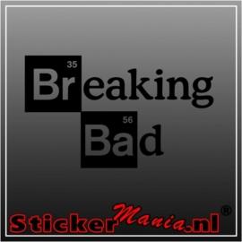 Breaking bad sticker