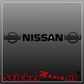 Nissan raamstreamer sticker