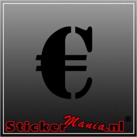 €. Euro teken