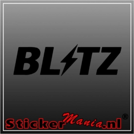 Blitz sticker