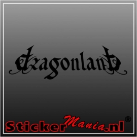 Dragonland sticker