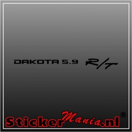 Dodge dakota 5.9 r/t sticker