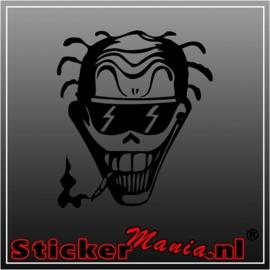 Skull 33 sticker