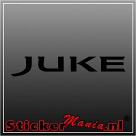Nissan juke sticker