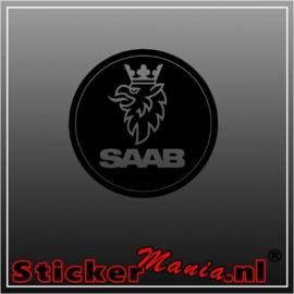 Saab sticker