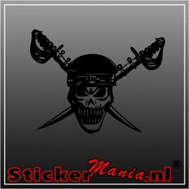 Skull 31 sticker