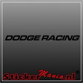 Dodge racing raamstreamer sticker